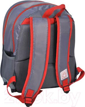 Школьный рюкзак Paso 15-163AU - вид сзади