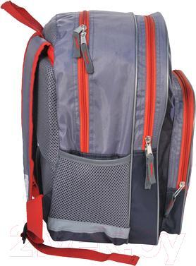Школьный рюкзак Paso 15-163AU - вид сбоку
