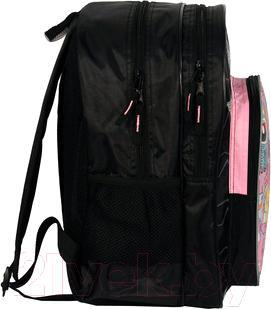 Школьный рюкзак Paso MAD-162 - вид сбоку
