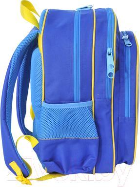 Школьный рюкзак Paso PMA-080 - вид сбоку