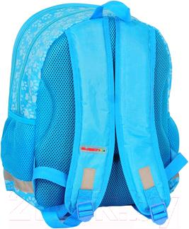 Школьный рюкзак Paso RAE-080 - вид сзади
