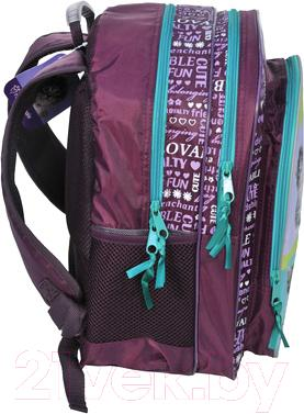 Школьный рюкзак Paso RAJ-080 - вид сбоку