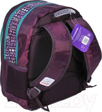 Школьный рюкзак Paso RAJ-080 - вид сзади