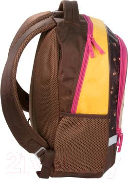 Школьный рюкзак Paso RHI-260 - вид сбоку