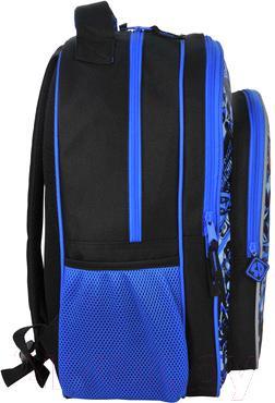 Школьный рюкзак Paso SDK-850 - вид сбоку