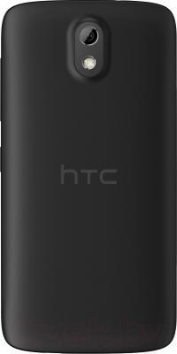 Смартфон HTC Desire 526G Dual (черный) - вид сзади
