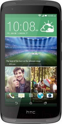 Смартфон HTC Desire 526G Dual (черный) - общий вид