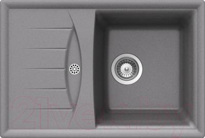 Мойка кухонная Teka Cabrera 45 B-TG / 40145022 (алюминий) - общий вид