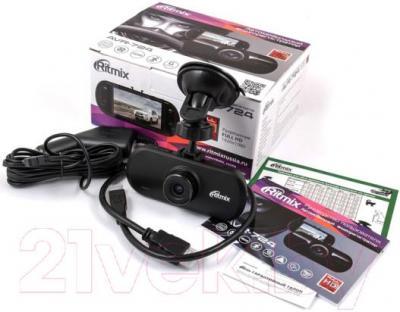 Автомобильный видеорегистратор Ritmix AVR-724 - комплектация