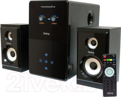 Мультимедиа акустика Dialog AP-220 - общий вид