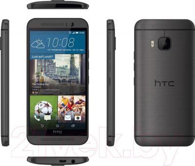 Смартфон HTC One / M9 (металлик) - полный обзор панелей