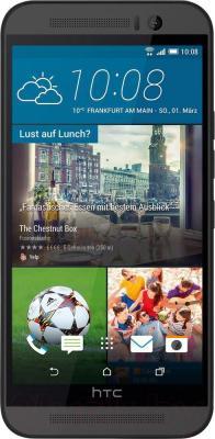 Смартфон HTC One / M9 (металлик) - общий вид