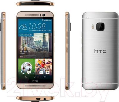 Смартфон HTC One / M9 (серебристый) - обзор всех панелей