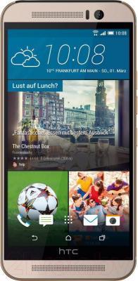 Смартфон HTC One / M9 (серебристый) - общий вид
