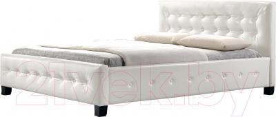 Двуспальная кровать Signal Barcelona (белый)