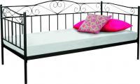 Односпальная кровать Signal Birma (черный) -