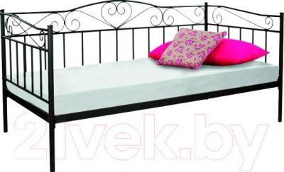Односпальная кровать Signal Birma (черный)