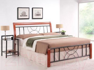Двуспальная кровать Signal Cortina (160x200)
