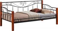 Односпальная кровать Signal Kenia (античная черешня) -