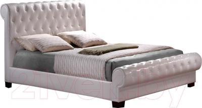 Двуспальная кровать Signal Malibu (белый)