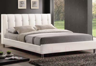 Двуспальная кровать Signal Nadi (белый)