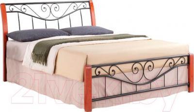 Двуспальная кровать Signal Parma (160x200, античная черешня)