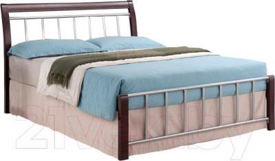 Двуспальная кровать Signal Praga (160x200, венге)