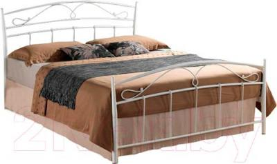 Двуспальная кровать Signal Siena (160x200, белый)