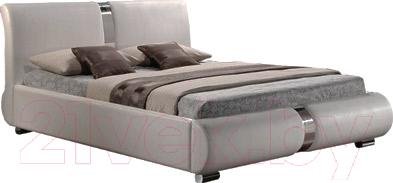 Двуспальная кровать Signal Tokyo Bis 160 (белый, с подъемником)