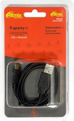 Кабель USB Ritmix RM-220 NP - общий вид