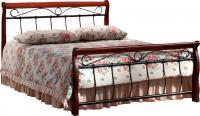 Двуспальная кровать Signal Venecja 2OS.180x200 (античная черешня) -