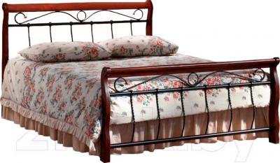 Двуспальная кровать Signal Venecja 2OS.160x200 (античная черешня)