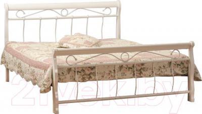 Двуспальная кровать Signal Venecja 2OS.160x200 (белый)