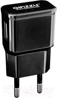 Сетевой адаптер питания Ginzzu GA-3105UB (черный) - общий вид