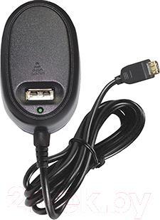Сетевое зарядное устройство Ginzzu GA-3208UB - общий вид с кабелем