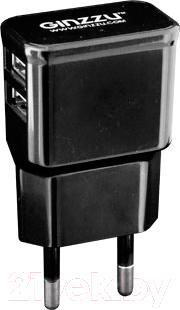 Сетевой адаптер питания Ginzzu GA-3210UB - общий вид