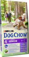 Корм для собак Dog Chow Seniour с ягненком (14 кг) -