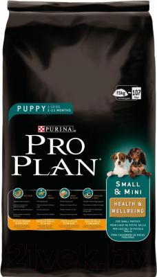 Корм для собак Pro Plan Puppy Small and Mini (7.5 кг) - общий вид