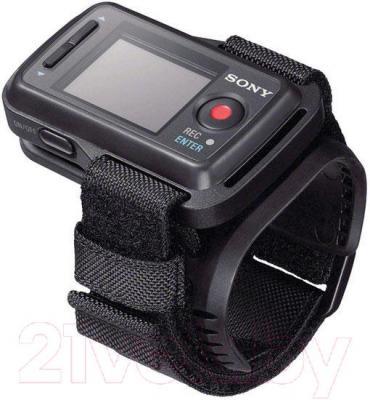 Экшн-камера Sony ActionCam HDR-AS200VB (+велосипедный комплект крепления)