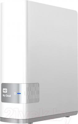 Сетевой накопитель Western Digital My Cloud 2TB (WDBCTL0020HWT-EESN) - вид сбоку