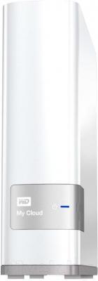Сетевой накопитель Western Digital My Cloud 3TB (WDBCTL0030HWT-EESN) - общий вид