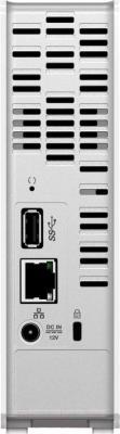Сетевой накопитель Western Digital My Cloud 3TB (WDBCTL0030HWT-EESN) - вид сзади