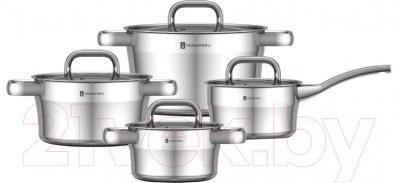 Набор кухонной посуды Yamateru Hoshi YHO28W - общий вид набора