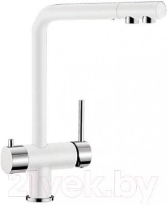 Смеситель Blanco Fontas 518506 (белый-хром) - общий вид