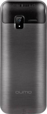 Мобильный телефон Qumo Push 250 Dual (черный) - вид сзади