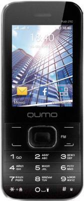 Мобильный телефон Qumo Push 250 Dual (черный) - общий вид