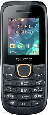 Мобильный телефон Qumo Push 184 (оранжевый) - общий вид