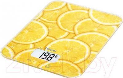 Кухонные весы Beurer KS19 Lemon - общий вид