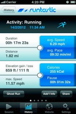 Пульсометр Beurer PM250 - приложение Runtastic
