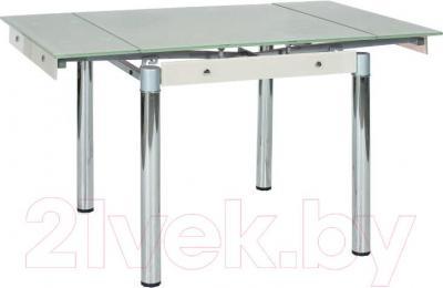 Обеденный стол Signal GD082 (белый)